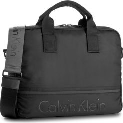 Torba na laptopa CALVIN KLEIN BLACK LABEL - Matthew 2.0 Laptop Bag K50K503699 001. Czarne plecaki męskie marki Calvin Klein Black Label, z materiału. W wyprzedaży za 419,00 zł.