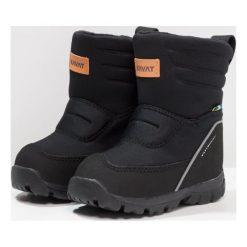 Kavat VOXNA WP Śniegowce black. Czarne buty zimowe damskie Kavat, z materiału. W wyprzedaży za 287,20 zł.