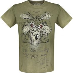 T-shirty męskie: Looney Tunes Wile E. Coyote - Inner Thoughts T-Shirt khaki
