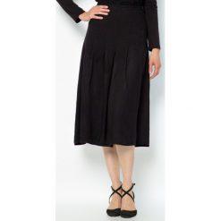 Spódniczki: Spódnica z zakładkami, elastyczna serża