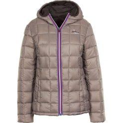Odzież damska: Kurtka zimowa w kolorze szaro-brązowym