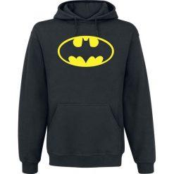 Bluzy męskie: Batman Logo Bluza z kapturem czarny