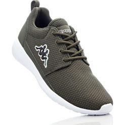 Buty sportowe Kappa bonprix oliwkowy. Zielone buty sportowe męskie marki bonprix, na sznurówki. Za 124,99 zł.