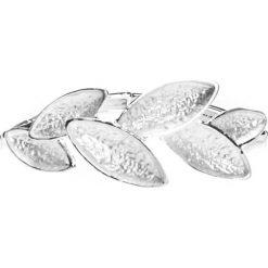 Srebrna bransoletka z liśćmi QUIOSQUE. Szare bransoletki damskie na nogę marki QUIOSQUE, metalowe. W wyprzedaży za 29,99 zł.