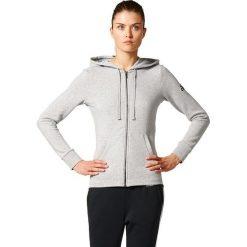 Adidas Bluza damska ESS SOLID FZ HD szara r. L (S97086). Szare bluzy sportowe damskie marki Adidas, l, z dresówki, na jogę i pilates. Za 184,45 zł.