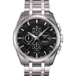PROMOCJA ZEGAREK TISSOT T-TREND T035.627.11.051.00. Czarne zegarki męskie TISSOT, ze stali. W wyprzedaży za 2948,00 zł.