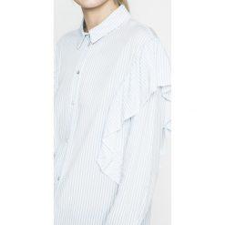 Only - Koszula. Szare koszule damskie marki ONLY, z lyocellu, casualowe, z długim rękawem. W wyprzedaży za 59,90 zł.
