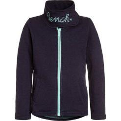 Bench FUNNEL  Bluza rozpinana maritime blue. Szare bluzy dziewczęce rozpinane marki Bench, z bawełny, z kapturem. W wyprzedaży za 152,10 zł.