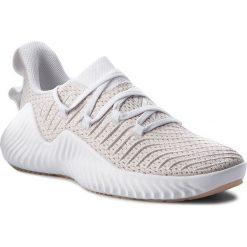 Buty adidas - Alphabounce Trainer W B75780 Ftwwht/Ftwwht/Ashpea. Czarne buty do fitnessu damskie marki Adidas, z kauczuku. W wyprzedaży za 279,00 zł.