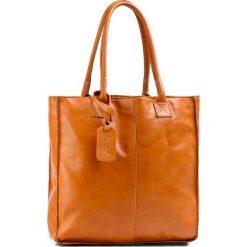 Torebka CREOLE - RBI10071 Brązowy. Brązowe torebki klasyczne damskie Creole, ze skóry, duże. Za 349,00 zł.