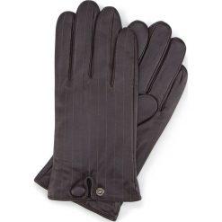 Rękawiczki męskie 39-6-715-BB. Brązowe rękawiczki męskie Wittchen, z polaru. Za 149,00 zł.