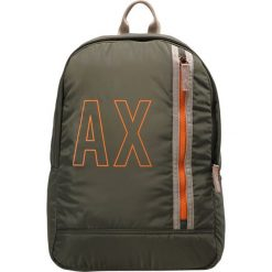 Plecaki męskie: Armani Exchange BACKPACK Plecak military green
