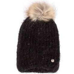 Czapka LIU JO - Cuffia Mohair Paille A18252 M0300 Nero 22222. Czarne czapki zimowe damskie marki Liu Jo, z materiału. W wyprzedaży za 209,00 zł.