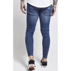 Jeansy męskie regular: SIKSILK EXS SIKSILK SKINNY Jeans Skinny Fit mid blue