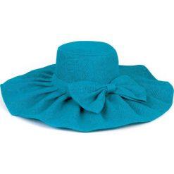 Kapelusz damski Gloria niebieski (cz13021). Niebieskie kapelusze damskie marki FORCLAZ, z bawełny. Za 32,73 zł.