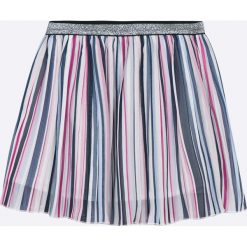 Name it - Spódnica dziecięca 122-152 cm. Szare minispódniczki marki Name it, z materiału, rozkloszowane. W wyprzedaży za 79,90 zł.