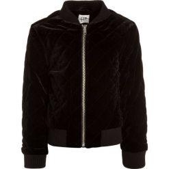 GAP Bluza rozpinana true black. Czarne bluzy dziewczęce GAP, z elastanu. W wyprzedaży za 194,35 zł.