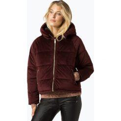 ONLY - Damska kurtka pikowana – New Paula, czerwony. Szare kurtki damskie pikowane marki ONLY, s, z bawełny, z okrągłym kołnierzem. Za 259,95 zł.