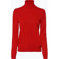Franco Callegari - Sweter damski z czystego kaszmiru, czerwony. Zielone swetry klasyczne damskie marki Franco Callegari, z napisami. Za 579,95 zł.