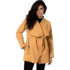 Płaszcze męskie: Płaszcz w kolorze musztardowym