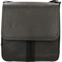 Listonoszka MACRO. Czarne torby na ramię męskie Gino Rossi, m, ze skóry. Za 439,90 zł.