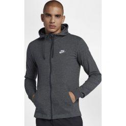 Swetry męskie: Nike Sportswear Team Club Full Zip Hoodie Charcoal