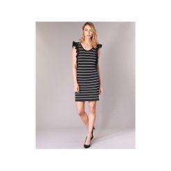 Sukienki krótkie Vero Moda  VMABHY. Sukienki małe czarne marki Vero Moda, l, z krótkim rękawem. Za 143,20 zł.
