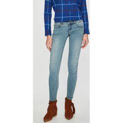 Only - Jeansy. Szare jeansy damskie marki ONLY, s, z bawełny, z okrągłym kołnierzem. Za 169,90 zł.