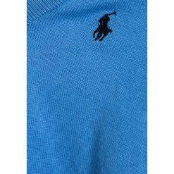 Polo Ralph Lauren BABY Sweter florida blue. Niebieskie swetry chłopięce Polo Ralph Lauren, z bawełny, polo. Za 249,00 zł.