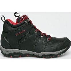 Columbia - Buty Fire Venture Mid Waterproof. Czarne buty trekkingowe damskie Columbia. Za 499,90 zł.