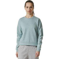 Bluzy sportowe damskie: Adidas Bluza damska Stadium Sweat zielona r. S  (BP5567)