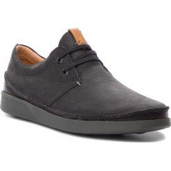 Półbuty CLARKS - Oakland Lace 261353947 Black Leather. Czarne półbuty skórzane męskie Clarks. W wyprzedaży za 319,00 zł.