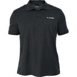 Hi-tec Koszulka polo VETIS BLACK r. L. Czarne koszulki polo Hi-tec, l. Za 41,65 zł.