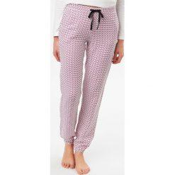 Etam - Spodnie piżamowe Felicia. Niebieskie piżamy damskie marki Etam, l, z bawełny. W wyprzedaży za 59,90 zł.