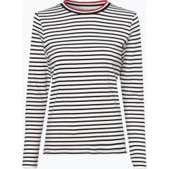 Marie Lund - Damska koszulka z długim rękawem, beżowy. Brązowe t-shirty damskie Marie Lund, l, w paski, z bawełny. Za 89,95 zł.