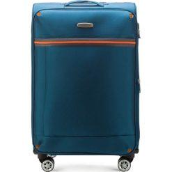Walizka średnia 56-3S-492-95. Niebieskie walizki marki Wittchen, średnie. Za 199,00 zł.
