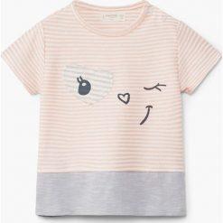 Bluzki dziewczęce: Mango Kids – Top dziecięcy Linda 62-80 cm