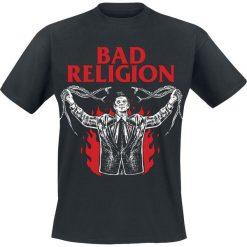 Bad Religion Snake Preacher T-Shirt czarny. Czarne t-shirty męskie z nadrukiem Bad Religion, xl, z okrągłym kołnierzem. Za 74,90 zł.