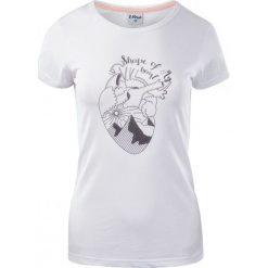 Bluzki asymetryczne: ELBRUS Koszulka damska Corazon Wo's Island Paradise Melange/ White r. M