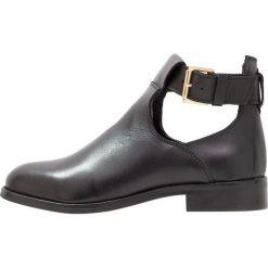 KIOMI Ankle boot black. Czarne botki damskie skórzane marki KIOMI. Za 459,00 zł.