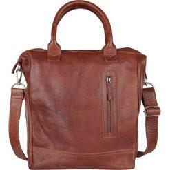 """Torby na laptopa: Skórzana torebka """"Georgio"""" w kolorze brązowym – 42 x 38 x 14 cm"""