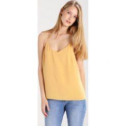Topy damskie: JUST FEMALE ALUNA Top yellow wheat