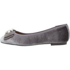 Baleriny damskie lakierowane: Head over Heels by Dune HAPPI Baleriny grey