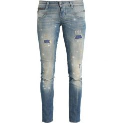 Freeman T. Porter ALEXA Jeansy Slim Fit blue Denim. Niebieskie jeansy damskie marki Freeman T. Porter. W wyprzedaży za 227,40 zł.