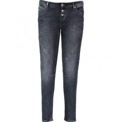 """Dżinsy """"Jasmin"""" - Slim fit - w kolorze antracytowym. Niebieskie spodnie z wysokim stanem marki Mustang, z aplikacjami, z bawełny. W wyprzedaży za 217,95 zł."""