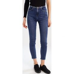 Rurki damskie: NORR KAJA Jeansy Slim Fit blue denim