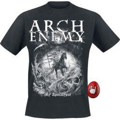 Arch Enemy My Apocalypse T-Shirt czarny. Czarne t-shirty męskie z nadrukiem Arch Enemy, m, z dekoltem na plecach. Za 74,90 zł.