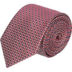 Krawat platinum czerwony classic 231. Czerwone krawaty męskie Recman. Za 49,00 zł.