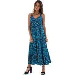 Sukienki: Sukienka w kolorze turkusowo-niebieskim