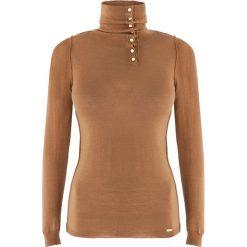 Sweter damski Lea 2. Żółte swetry rozpinane damskie Ochnik, na zimę, s, z wełny. Za 99,90 zł.